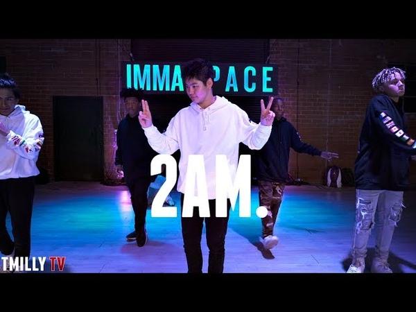 Adrian Marcel 2AM ft Sage the Gemini Choreography by Willdabeast Adams TMillyTV