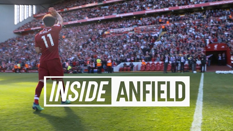 Inside Anfield Liverpool 4-0 Brighton | Last game of the season
