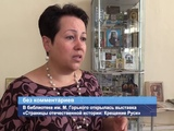 ГТРК ЛНР. В библиотеке им. М. Горького открылась выставка