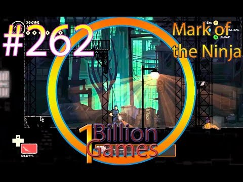 Mark of the Ninja - 1BillionGames 262 Play Station Games on English Учим английский по играм