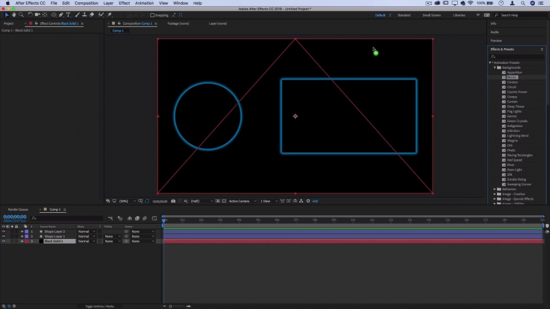 How to create a Stylish YouTube End Screen Template in Adobe After Effects CC (FREE Project)