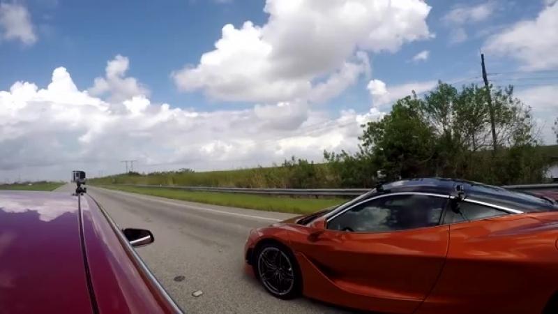 Tesla Model S vs McLaren 720S