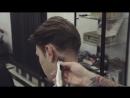 Текстурная мужская стрижка⁄Мужская стрижка на пальцах⁄мужская стрижка на средние волосы