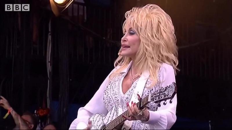 Dolly Parton - Jolene at Glastonbury 69 лет ( 41 год спустя)