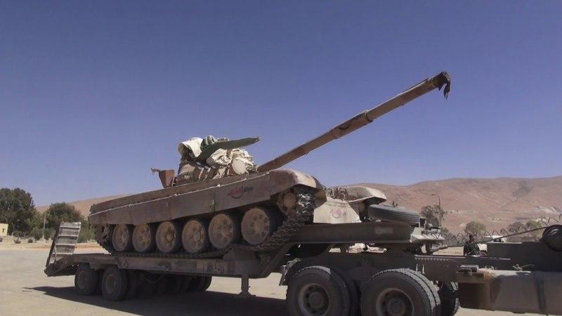 Танки, наркотики, ракеты — всё, что обнаружили «Тигры» генерала Сухейла в горах Каламуна