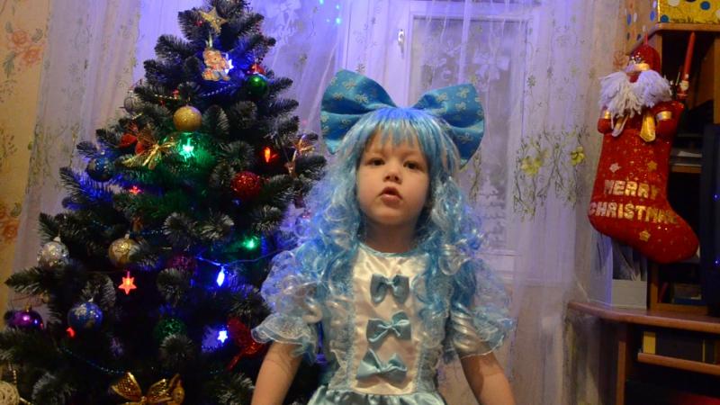 Новогоднее поздравление от Евочки Мальвинки
