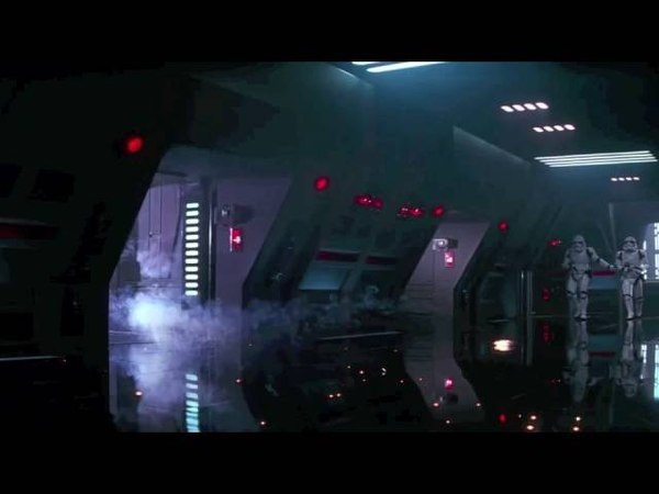 The Force Awakens: Kylo Ren freakout/anger scene