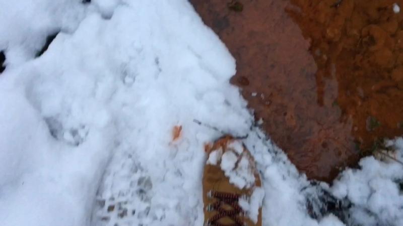 Ржавый ручей из ВЗУ в Новой Трехгорке