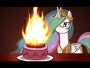 Gabber Feral FurE Happy Birthday MLP FiM