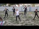Танец под известную песню Черный кот, поет участница танца Виталия Цоцория