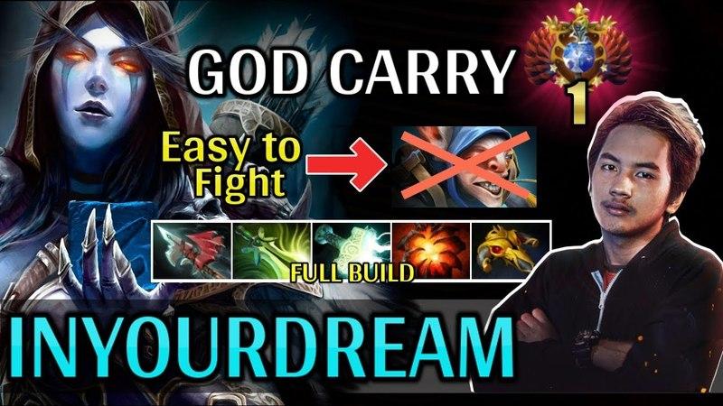 InYourdreaM Counter Meepo With Mirana   TOP 1 SEA Skill   GOD CARRY - Dota 2