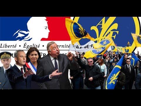 Hommage Jeanne d'Arc Républicains VS Royalistes.