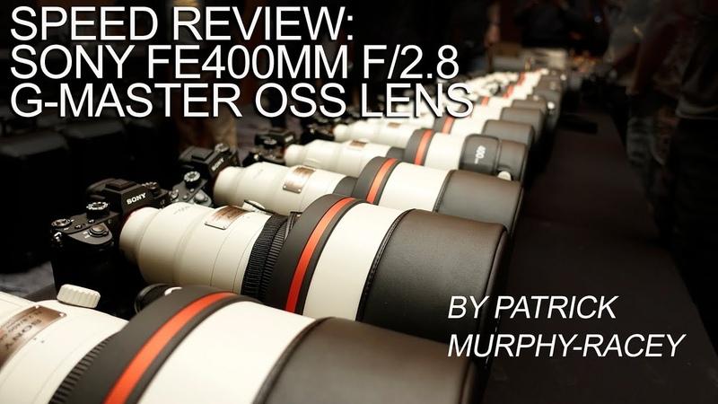 Dury'sTV Speed Review of the Sony FE400mm f 2 8GM OSS Lens