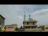 First footages of liberation of Deir al-Adas by Fatemiyoun fighters in Daraa, Syria. - - via @Fatemiyoun1434