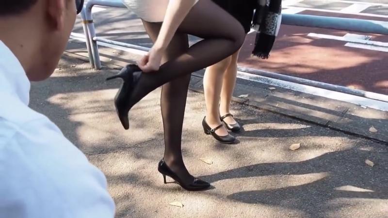 Нежные японские девочки в колготках Japanese Pantyhose Sexy