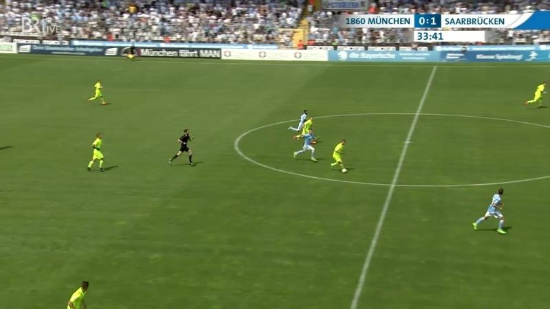 Мюнхен 1860 2:2 Саарбрюккен   Полный матч   27.05.2018