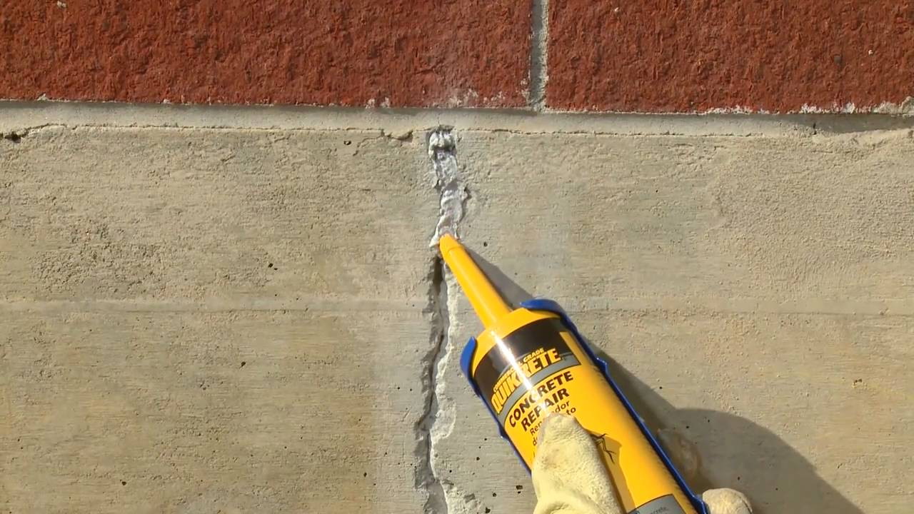 цементный раствор для заделки трещин