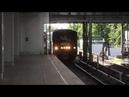 Метропоезд 81-717 «Народный ополченец» на станции Технопарк