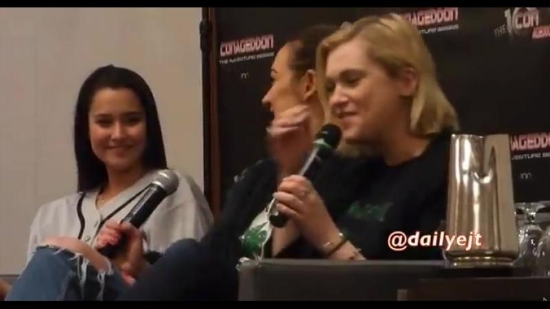 Eliza talk about Alycia