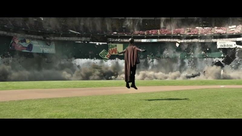 Магнето поднимает стадион / Люди Икс: Дни минувшего будущего