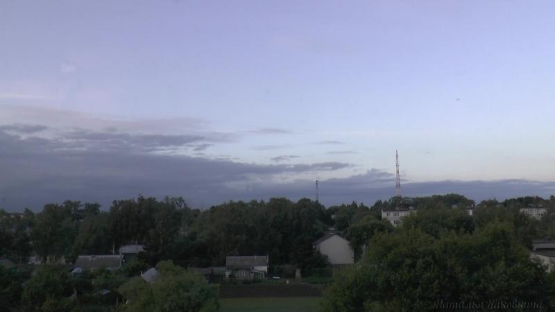Река облаков. На Пронск надвигается ночь