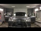 Автоматическая тонировка Lexus 570 от компании ATE г. Екатеринбург