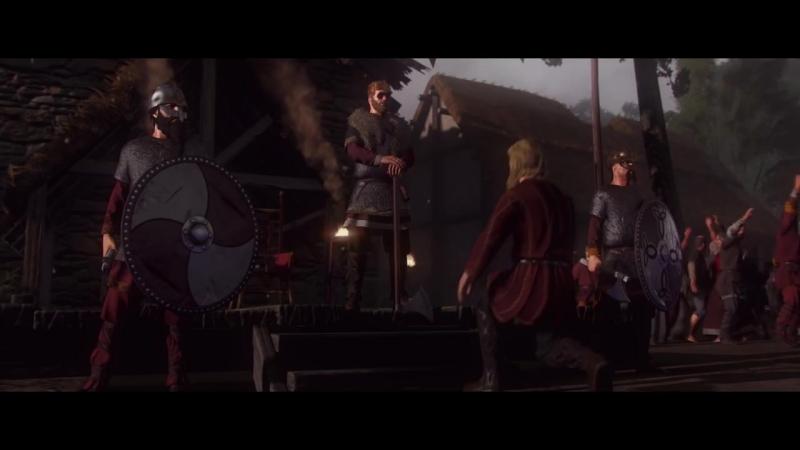 Викинги Нортумбрии в новом трейлере игры Total War Saga: Thrones of Britannia!