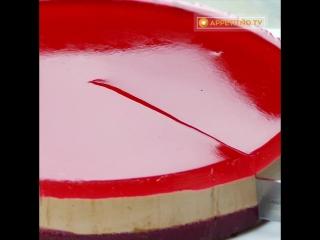 Шоколадно смородиновый торт без выпечки | Больше рецептов в группе Десертомания