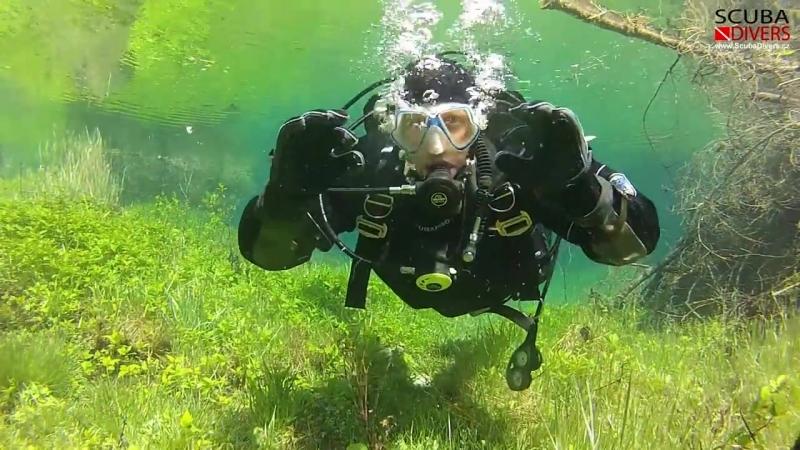 Grüner See (Green Lake) Scuba Diving 2013 - Austria