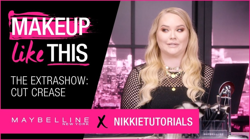Extra Show 1: Make Cut Crease Happen | Maybelline NikkieTutorials