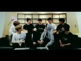 [Видео] 180312 Группа Stray Kids говорит о GOT7