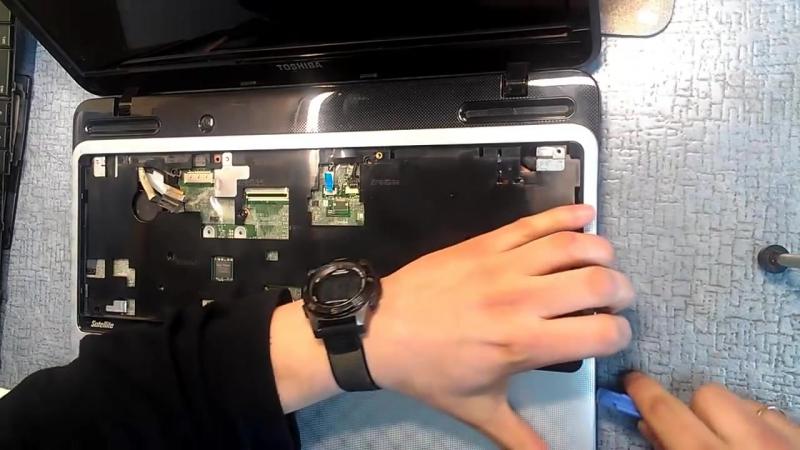 CoRE | Разборка Ноутбука Toshiba Satellite L750, L755 - 01|ХХ