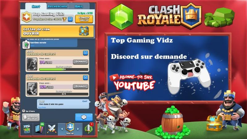 Clash Royale PACK Opening 9 COFFRES | Je joue avec abonnés