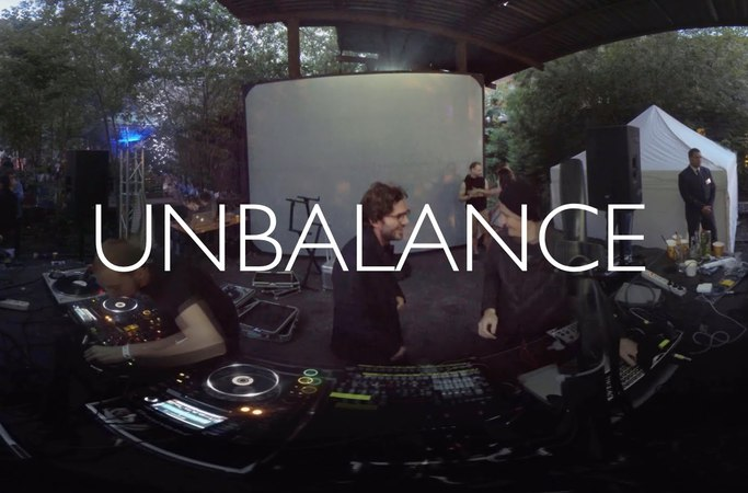 Unbalance DJ Set 360 Video @ Треугольник by m_division, Санкт-Петербург, 25.07.2015
