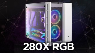 CORSAIR CRYSTAL SERIES 280X RGB - Clearly Compact