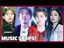 KPOP IDOLS : MUSIC STOPS WHILE PERFORMING ACCIDENTS - BTS EXO BLACKPINK TWICE GOT7 REDVELVET ETC