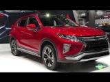 2018 Mitsubishi Eclipse Cross SEL Exterior and Interior Walk around LA Auto Show