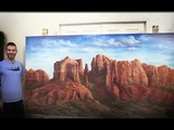 4x8 ft Canvas Desert landscape PART 2