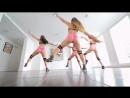 Twerk Class молодые упругие попы фитоняшек в горячем танце