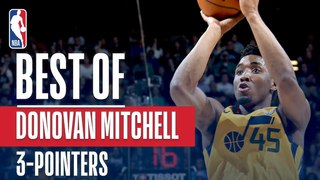 Donovan Mitchell Makes HISTORY! Most 3s In A Season By Any Rookie! #NBANews #NBA #Jazz #DonovanMitchell