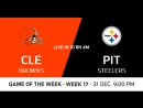 NFL 2017-2018 / Week 17 / Cleveland Browns - Pittsburgh Steelers / CG / EN