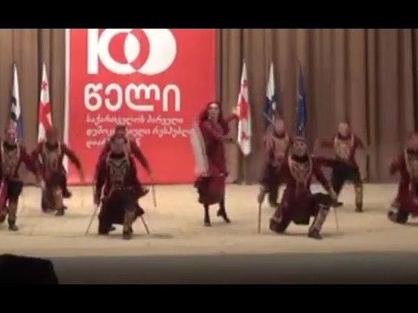 ансамбль Грузии Рустави - танец Парикаоба (26.05.2018)