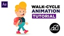 How to Create Walk Cycle Animation in After Effects Tutorial No Plugin