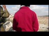 Words vs. Israeli soldiers- Demonstration in Nabi Salih, Palestine, 25.11.2011.mp4
