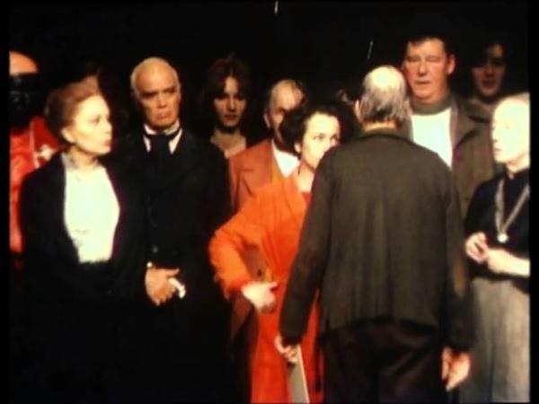 Фрагмент кинофильма Ингмар Бергман ставит в театре (реж. Фриц Шустер, 1977)
