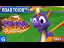 Spyro 3 Year of the Dragon Road to 100 01 Sunrise Spring Part 1 - Where are the eggs