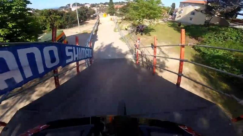 Даунхилл маунтинбайк Кубок мира 2018 Трасса своими глазами Хорватия Лошинь