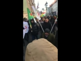 Протест против ареста Муслима