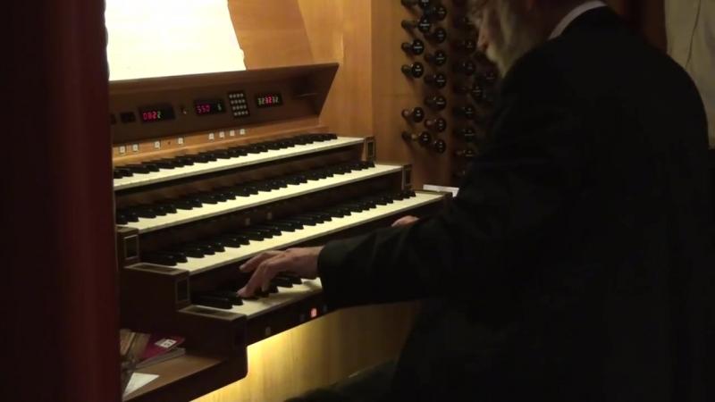 874 J. S. Bach - Prelude and Fugue in D major, BWV 874 WTK II n. 5 - Christoph Bossert, Würzburg