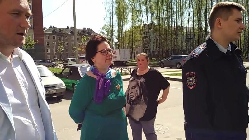03 05 2018 Рейдерский захват дома управляющей компанией Элеком г Электросталь часть 8